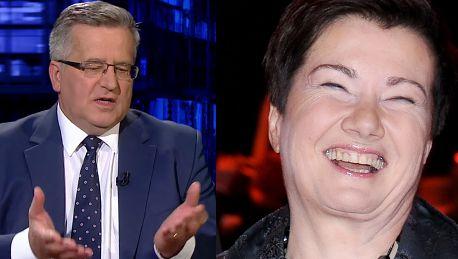 Komorowski broni Hanny Gronkiewicz Waltz To polityczna gra MA ODPOWIADAĆ ZA TO ŻE SĄ NIEUCZCIWI URZĘDNICY