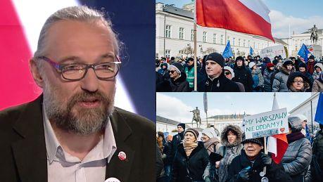 Kijowski Nie na sposobu by powstrzymać PiS Nikt nie liczy że demonstracjami obronimy konstytucję