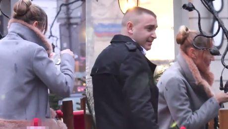 Sylwia Gruchała z byłym mężem na obiedzie mikołajkowym