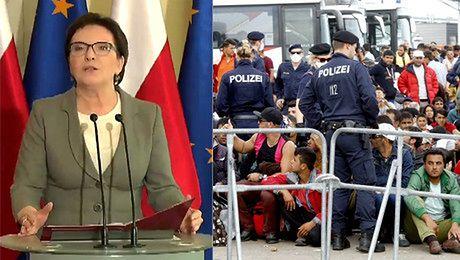 Kopacz o uchodźcach Polska żąda bardzo mocnej kontroli granic Unii Europejskiej