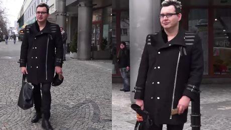 Elegancki Witkowski wychodzi z Dzień Dobry TVN
