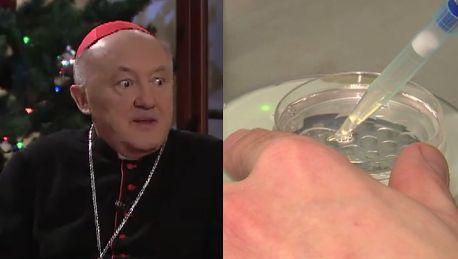 Kardynał Nycz o in vitro Kompromis jest NIE DO PRZYJĘCIA Katolik musi mieć swoje sumienie