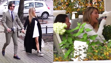 Nadęty Majdan i Rozenek w luksusowym butiku WIDEO