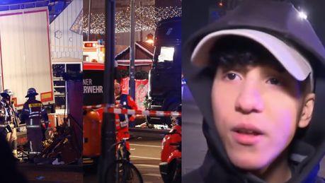 Świadek zamachu w Berlinie Ciężarówka po prostu przejechała po ludziach