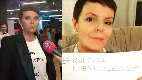 Korwin Piotrowska Politycy to banda idiotów nie mam do nich szacunku
