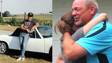 Córka odrestaurowała samochód dla swojego ojczyma