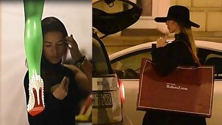 Chodakowska wybiera buty w drogim warszawskim butiku