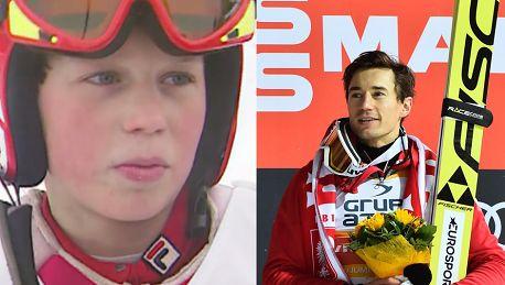12 letni Kamil Stoch Jak jestem na górze nie myślę o zwycięstwie