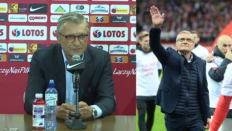 Nawałka o porażce polskich piłkarzy Biorę pełną odpowiedzialność na siebie