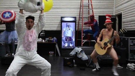 Backstreet Boys tańczą Harlem Shake