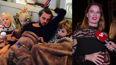 Malinowska walczy o tytuł matki roku Jak wychodzę na event to nie muszę kłaść spać trójki dzieci JEST SUPER