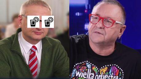 Z którym politykiem PiS u Owsiak napiłby się wódki Poprosiłbym żeby zdjął sweter