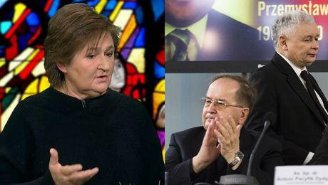 Magdalena Środa w TVN ie Bóg jest wszędzie w Kościele jest PiS
