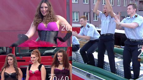 Tak Polsat walczy o widzów modelki plus size paradują w bieliźnie przed strażakami i… Maślakiem
