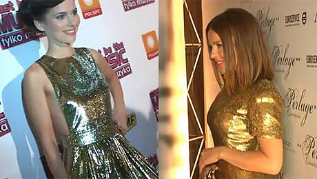 Sykut i Herbuś w złotych sukienkach