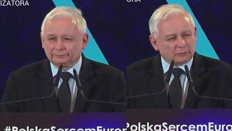 Jarosław Kaczyński na konwencji PiS Niemieckie proszki lepiej piorą
