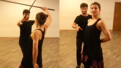 Sienkiewicz i Terrazzino ćwiczą przed finałem