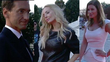 Gwiazdy na imprezie TVP