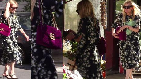 Olejnik zabrała nową torebkę Gucci do warzywniaka WIDEO