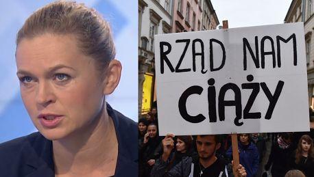 Nowacka o strajku kobiet Kobiety dowiadują się że są brzydkie głupie złe i mordercze