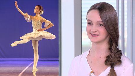 16 letnia Polka o paryskiej szkole baletu Żeby się dostać musiałam znać francuski Uczyłam się 3 miesiące po 6 godzin dziennie