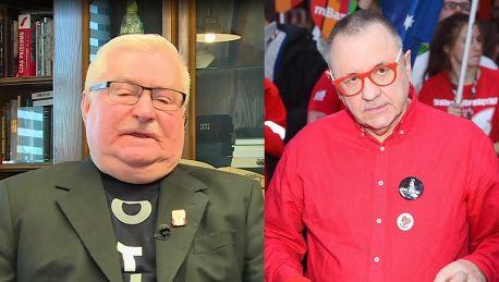 Lech Wałęsa o rezygnacji Owsiaka Nie może zejść z placu boju