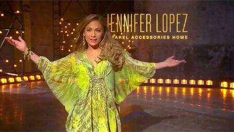 Jennifer Lopez w reklamie swoich ubrań