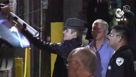 Fanki krzyczą na widok Biebera