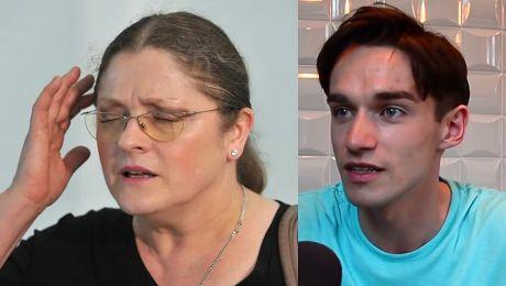 Łukasz z Big Brothera chce nauczyć Krystynę Pawłowicz tolerancji Jest niewyedukowana