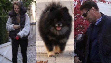 Czarek Lis zabrał na spacer Tomasza Lisa i Polę Poszli do ulubionej knajpy celebrytów WIDEO
