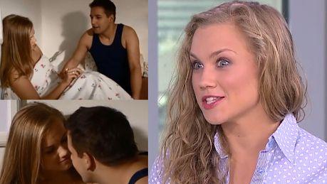 Kaczorowska o pierwszym pocałunku w filmie Miałam 13 lat chłopak nie wyglądał dobrze