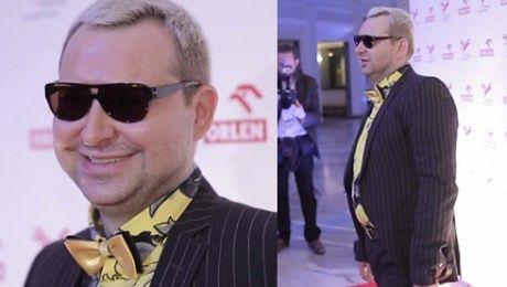 Michał Witkowski został blondynem