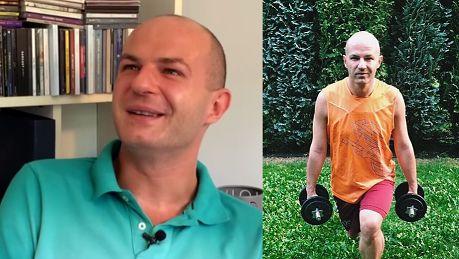 Wróżbita Maciej Ważyłem 113 kilo Byłem zapuszczony miałem problem żeby wstać z fotela