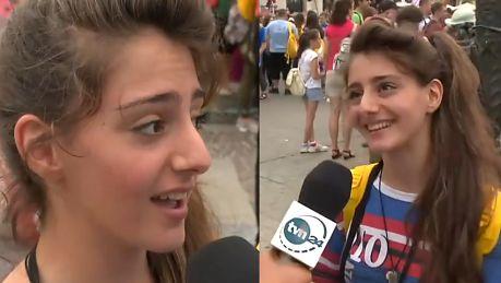 Syryjka na Światowych Dniach Młodzieży Trzeba się uśmiechać i próbować być wesołym Módlcie się za nas