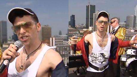 Marek z M jak miłość śpiewa na dachu Dzień Dobry TVN