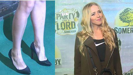 Jessica Mercedes pokazała nogi