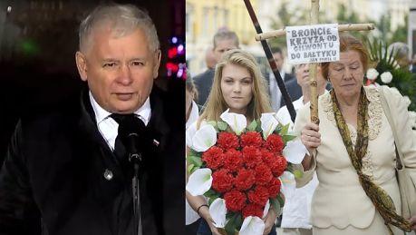Kaczyński chce przywrócić krzyż na Krakowskim Przedmieściu To słuszna inicjatywa Nie chodzi o odwet