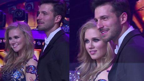 Kaczorowska pozuje z Maślakiem w finale Tańca z gwiazdami