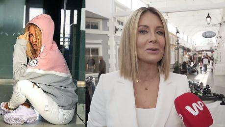 Małgorzata Rozenek wyznaje do kamery Nie wyobrażam sobie mojej szafy bez dresów i piżamy