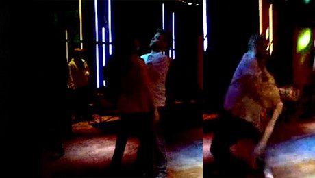 Rusin ociera się o Piroga Zobacz jak tańczą