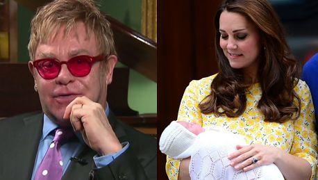 Elton John o Royal baby Jestem zachwycony że jedno z imion to Diana