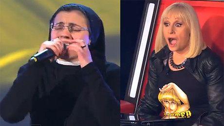 ZAKONNICA we włoskim The Voice
