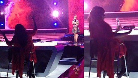 Farna znów tańczy na próbie do X Factora