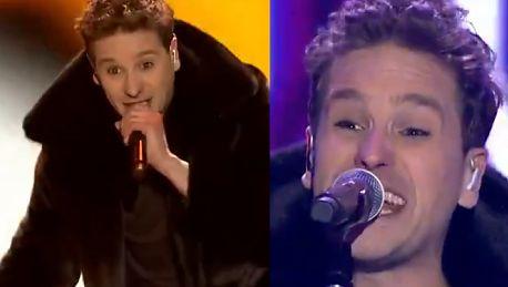 Krzysztof Zalewski śpiewa Sweet Dreams podczas Sylwestra TVP