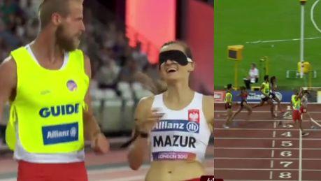 Niewidoma Polka zdobyła złoty medal na lekkoatletycznych MŚ w Londynie WIDEO