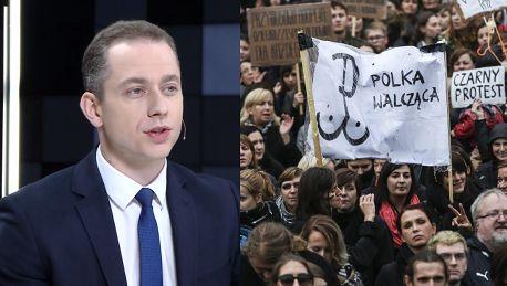 Tomczyk wspiera Czarny Protest Nie mam niż przeciwko żeby Polki obaliły ten rząd