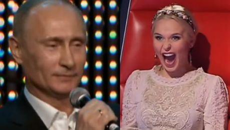 Putin śpiewa w rosyjskim The Voice