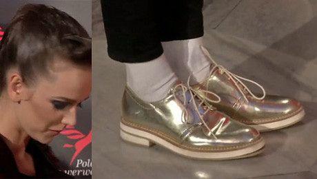 Monika Brodka w złotych butach