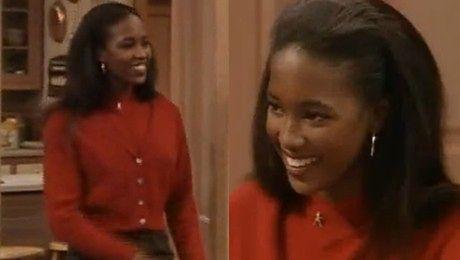 18 letnia Naomi w Bill Cosby Show