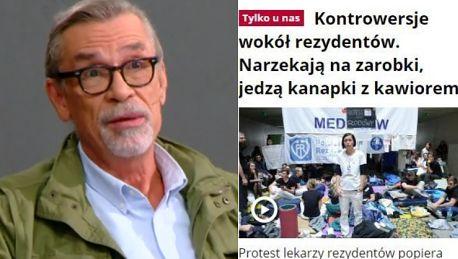 Żakowski o nagonce TVP na lekarzy Prymitywne oszczerstwa Media publiczne są w rękach ludzi dla których kłamstwo jest chlebem powszednim